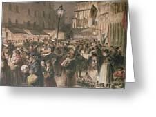 Lambeth Market Greeting Card