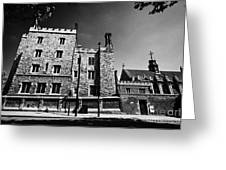 lambeth palace library London England UK Greeting Card