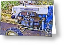 Lamborghini Classic Tractor Greeting Card