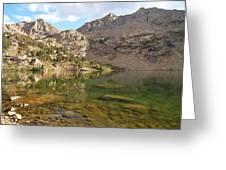 Lamoille Lake Greeting Card