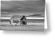 Lamoine School House - Lamoine - Washington - May 2013 Greeting Card