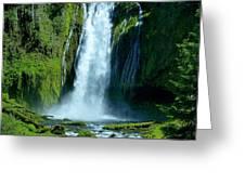 Lamolo Falls Greeting Card