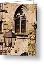 Lamp In Sarlat Greeting Card