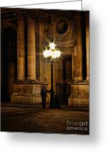 Lamp Light Greeting Card