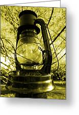 Lamp No.8 Greeting Card