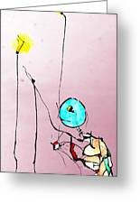 Lamplight Greeting Card