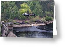 Lancaster Bomber 70th Anniversary Flypast Greeting Card