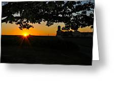 Lancaster County Morning Greeting Card