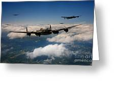 Lancaster Formation  Greeting Card