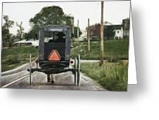 Lancaster Roads Greeting Card
