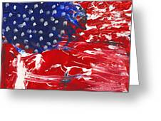 Land Of Liberty Greeting Card