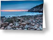 Land Of Sunrise Greeting Card
