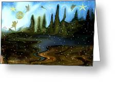 Land Of The Fairies  For Kids Greeting Card