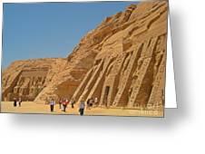 Land Of The Pharaohs Greeting Card