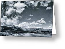 Land Shapes 25 Greeting Card by Priska Wettstein