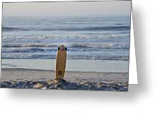 Land Surf Board Greeting Card