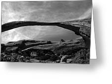 Landscape Arch Panoramic Greeting Card