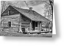 Landow Log Cabin Greeting Card