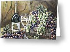 Landry Vineyards Greeting Card by Kimberly Blaylock