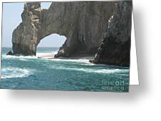 Lands End Beach - Cabo San Lucas Mexico Greeting Card