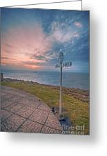 Lands End Cornwall Greeting Card