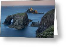 Lands End Dawn Greeting Card