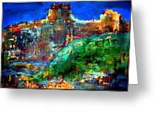 Landscape 121001-5 Greeting Card