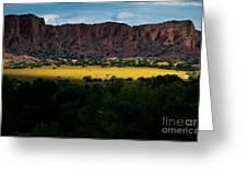 Landscape 22 E Los Alamos Nm Greeting Card