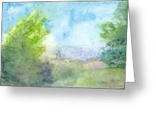 Landscape 4 Greeting Card