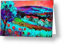Landscape 69513061 Greeting Card