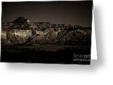 Landscape A10c Nm Co Greeting Card