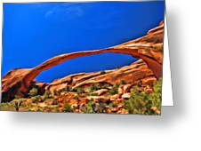 Landscape Arch Greeting Card