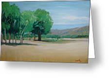 Landscape At Montelimar Greeting Card