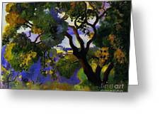 Landscape At St Tropez  2 Greeting Card