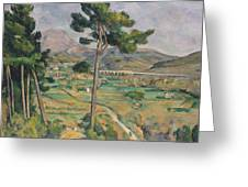 Landscape With Viaduct Greeting Card