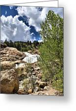 Alluvial Fan Colorado Greeting Card