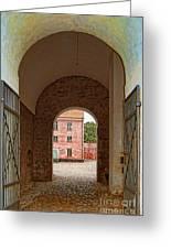 Landskrona Citadel Entrance Greeting Card