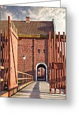 Landskrona Citadel In Sweden Greeting Card