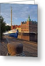 Landskrona Se 202 Greeting Card