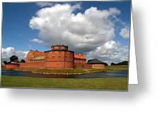 landskrona SE Slott Citadellet 03 Greeting Card