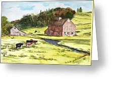 Lanesboro Barn Greeting Card