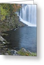Lanesboro Dam 12 Greeting Card
