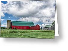 Langford Barn  7d06202 Greeting Card