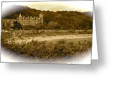 Langland Bay Gower Wales Greeting Card
