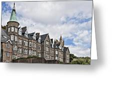 Langland Bay Manor Greeting Card
