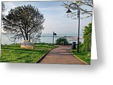 Langmoor-lister Gardens -- Lyme Regis Greeting Card
