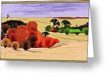 Lanscape 102 Greeting Card