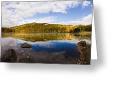Lantern Hill Pond - North Stonington Ct Greeting Card