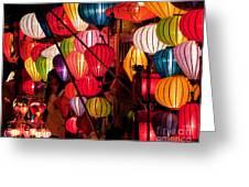 Lantern Stall 03 Greeting Card