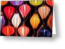 Lantern Stall 04 Greeting Card